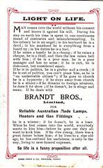 Worth reading! (Aussie~mobs) Tags: vintage sydney advertisement pittstreet brandtbrothers