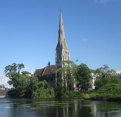 A little bit of England in CPH (cohodas208c) Tags: stalbans anglican copenhagen moat kastellet arthurblomfield 1889 architect architecture