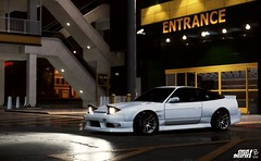 Street Sweeper! (GL1) Tags: yellow fatlace lab origin originlab white lights blur night speedhunters wheels work fitment stance 240 240sx sx 180 180sx nissan 2016 2015 speed for need nfs car vehicle outdoor highlights parking