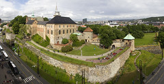 Akershus Fortress (Kev Gregory (General)) Tags: panoramic image akershus fortress located city centre oslo fjord norway castle king hkon v medieval strategic headland christian iv modernised converted renaissance royal residence panorama kev gregory canon 7d baltic cruise caribbean navigator of the seas europe