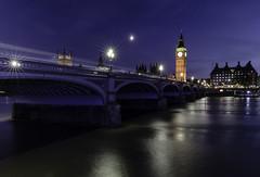Summer Nights, London (Jack Heald) Tags: summer westminster bridge london night uk longexposure clocktower bigben thames river
