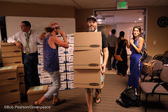 Boxes of Signatures Keep Coming (Greenpeace USA 2016) Tags: colorado ban fracking petition truck delivery fossilfuel oil gas denver coalition