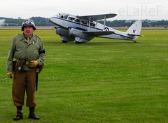 G-AIDL de Havilland DH.89A Dragon Rapide c/n 6968 as TX310 & Re-Enactor (eLaReF) Tags: gaidl de havilland dh89a dragon rapide cn 6968 tx310 reenactor