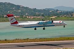 "OE-LGM, Austrian Airlines, De Havilland Canada DHC-8-402Q Dash 8 - cn 4319.""Villach"" (dahlaviation.com Thanks for over 1 !! million view) Tags: airplane aircraft aviation airplanes greece corfu kerkyra spotting aircrafts planespotting cfu lgkr"