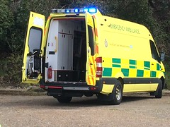 SECamb Emergency Ambulance (slinkierbus268) Tags: secamb south east coast ambulance service trust mercedes sprinter emergency bluelights brooklands