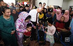 Majlis Hari Raya 1M4U.1M4U sentral ,Puchong.26/7/16 (Najib Razak) Tags: majlis hari raya 1m4u 1m4usentral puchong aidilfitri