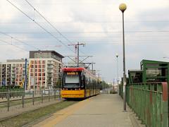 "PESA 128N ""Jazz-Duo"", #3646, Tramwaje Warszawskie (transport131) Tags: tram tramwaj pesa tw ztm warszawa warsaw 128n jazzduo"