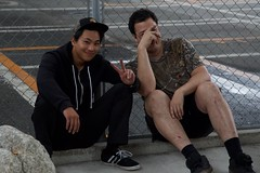 Nakamura&Kareem Shehab (BOB_Woods) Tags: fgfs lucidasiatour fixedgearfreestyle fukuoka japan