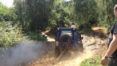 (Victoria Armstrong) Tags: yarwell offroading offroad 4x4 muddy splash nature landrover outdoor defender