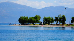 ()  DSC02812 (omirou56) Tags: 169ratio       sonydscwx500   greece sea sky mountain blue beach outdoor