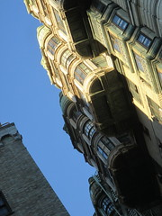 Ansonia Apartment Building Detail 3878 (Brechtbug) Tags: the ansonia apartment building now condo upper west side new york city 2109 broadway between 73rd 74th streets built 1899 opened 1904 beaux arts architectural style mansard roof architect paul e m duboy featured 1992 film single white female bridget fonda jennifer jason leigh home pogo cartoonist disney animator walt kelly mobster arnold rothstein athletes jack dempsey babe ruth 8222016 nyc 2016