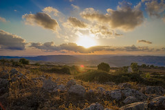 IMG_2087121 (M3NDOZA) Tags: sky sun italy sicily blue colors yellow cloud montain