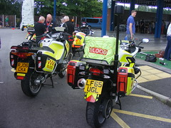4558 - S & S Blood Bikes - RJ06 CKA - LF65 UGL - 032 (Call the Cops 999) Tags: uk gb united kingdom great britain england saturday 30 july 2016 cheshire