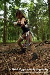 Tomb Raider Shoot with Annick  04 (berserker244) Tags: yggdrasilphotography60072016 guerrillaphotography yggdrasilphotography evandijk annick annickscosplay laracroft tombraider riseofthetombraider grebbeberg rhenen