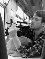 Videographer (tmvissers) Tags: uk wales north arriva train llandudno junction video camera videographer