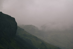 Bottom of Eyjafjallajkull (hynden) Tags: eyjafjallajkull iceland volcano landscape mountain fog rain mist cloud cloudy vsco europe green