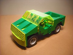 And now, wheels ! (Crimso Giger) Tags: lego vehicle biotron