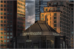 Southgate sunset (Chas56) Tags: melbourne southgate southbank architecture building buildings city cityskyline urban structures sunset canon canon5dmkiii