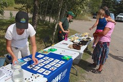 Point Duty Display @ Beauvais Lake (Oldman Watershed) Tags: sofieforsstrom education outreach albertaparks provincialparks pointduty owc family youth beauvaislakeprovincialpark