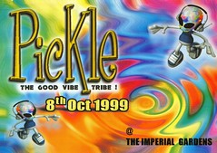 Pickle (Mary Hawkins) Tags: flyer clubkid london 1999 october acid house rainbow alien