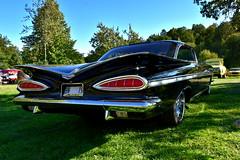 Impala 1959. (Papa Razzi1) Tags: 7968 2016 254365 chevrolet chevy impala 1959 americana classic carmeet classiccarsandcustoms2016