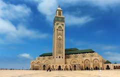 Hassan II Mosque, Casablanca Morocco (Photographing_The_World) Tags: morocco marokk travel travelphotography arabic africa muslimcountry culture wanderlust explore people northafrica moroccan moroccanculture moroccancolors moroccancolours moroccanpeople africanpeople discovermorocco exploremorocco marrakesh marrakech fes fez agadir asilah essaouira merzouga sahara maroc chefchaouen colors travelphotos arabicculture arabicpeople travelblog muslimpeople muslimculture diversity multicultural locals locallife moroccanlifestyle moroccanlife hassaniimosque casablanca mosque