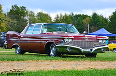 1960 Chrysler Imperial (scott597) Tags: ohio red pumpkin run imperial chrysler nationals 1960 2014 owensville