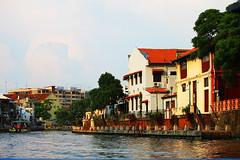 IMG_2321Ax (kanizfotolio) Tags: house canon river lens eos boat asia malaysia kits local dslr malaga dsl melaka malay malaka 500d