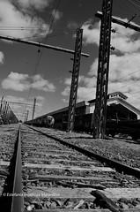[...] (Empricamente errneo .-.) Tags: chile bw clouds trenes nikon trains traveling temuco estacindetrenes