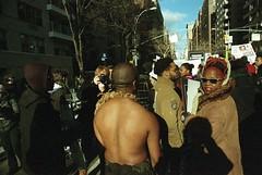 Millions March NYC 12/13/14 (triebensee) Tags: film nikon f2 24mm nikkor polarizer f28 circular preai kodakportra800 photomic millionsmarch millionsmarchnyc