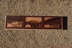 Laser-Engraved Woodblock (jjldickinson) Tags: wood print cherry board longbeach card printmaking wrigley woodblock hansayellow mokuhanga pthaloblue carbazoleviolet nikond3300 promaster52mmdigitalhdprotectionfilter 101d3300 nikon1855mmf3556gvriiafsdxnikkor card2014