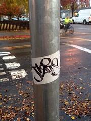 Jkats (shroomordie) Tags: graffiti sticker sanjose slap 2014 ase cmd jkatt