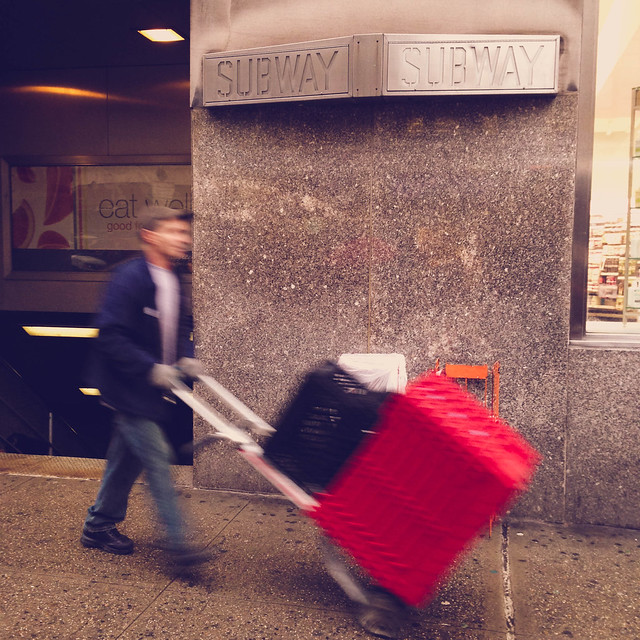 Subway, 23rd Street, NYC