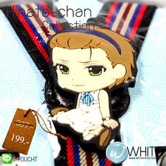 Hinata-chan Collection สายเอี้ยมเด็กเล็ก (Cute Suspenders) สำหรับเด็กเล็กประมาณ 5 ขวบ การ์ตูนญี่ปุ่น เสื้อขาว