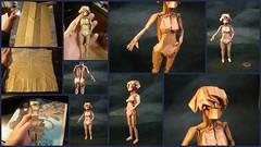 Girl BP - Komatsu (shuki.kato) Tags: paper naked nude origami foil fold komatsu hideo grimoire