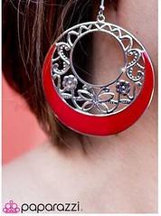 Sunset Sightings Red Earrings K1 P5920-4