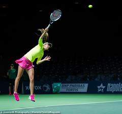 Oceane Dodin (Jimmie48 Tennis Photography) Tags: tennis antwerp wta 2015 oceanedodin bnpparibasfortisdiamondgames