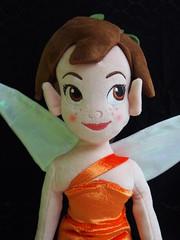 Kuschelpuppe Emily (sh0pi) Tags: emily doll bell tinkerbell disney plush fairy fawn fairies plsch legend tinker kuschelpuppe neverbeast