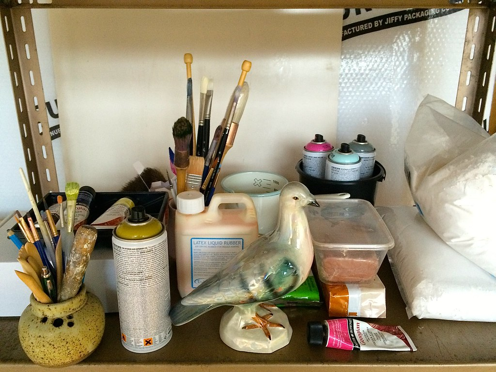 Studio shelf still life!