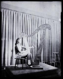 Girl and the Harp, circa 1958