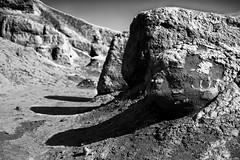 - three giant of uruk (Hasan Shaboot) Tags: blackandwhite bw art landscape ancient iraq uruk