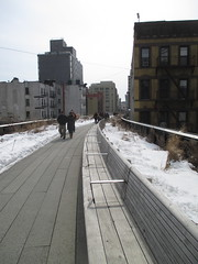High Line Snow Covered Railroad Overpass Tracks to Nowhere 8302 (Brechtbug) Tags: road park street new york city nyc railroad winter urban snow streets west art architecture garden way design march high downtown gallery path walk manhattan district balcony packing side nowhere tracks overpass rail pedestrian mini el meat line midtown covered mezzanine transportation boardwalk former elevated blizzard derelict reclamation highline skyway redesign the remodeled 2015 03072015