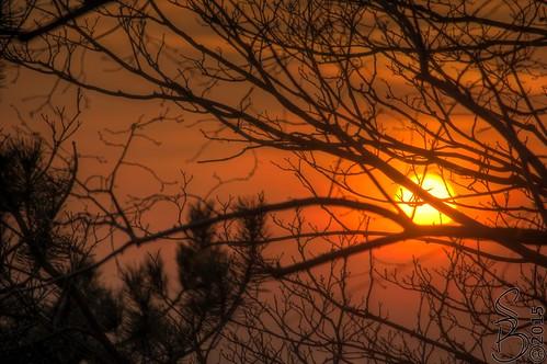 Sunset over Jena
