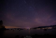 Lake Tahoe (AP_Creative_Media) Tags: california longexposure light lake canon painting stars photography long exposure nevada tahoe laketahoe astro milkyway