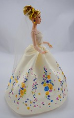 Wedding Day Cinderella Doll by Mattel - Disney Cinderella Live Action Film - Deboxed - Standing - Full Left Side View (drj1828) Tags: wedding standing bride us amazon doll princess disney cinderella weddingday purchase mattel 2015 11inch productinformation deboxed liveactionfilm