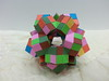 Dodecahedron composed of 20 cubes (hyunrang) Tags: origami cube dodecahedron hur twintape knotology heinzstrobl paperstrip tetrahedralsymmetry