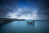 (Claire Hutton) Tags: wood old uk longexposure blue winter sea england motion water clouds lens outdoors coast pier wooden seaside sticks movement jetty wideangle le dorset rotten swanage csc srb ndfilter jurassiccoast ndgrad 10stop nd110 leefilters 10stopper sonynex5r samyang12mmf20