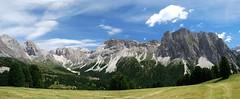 Dolomites, Italia (Siors CZ) Tags: italy panorama mountains nikon rocks italia sigmund dolomites geisler hory valdifunes itlie dolomity odle colraiser skly d80 furchetta sassrigais plandatieja jisigmund jirisigmund siors