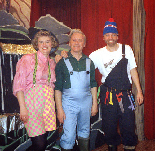 1991 Mother Goose 03 (from left Lynne Ward,Ted Hampton, Roy Ritchie)