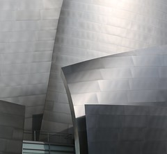 Metal Layers (chantsign) Tags: reflection building closeup architecture gehry explore slice layers waltdisneyconcerthall